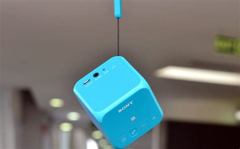 Sony SRS-X11: Perfect companion for your smartphone