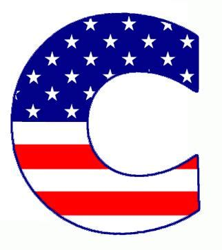 My Scouting Web Pages: Flag Letters - ClipArt Best
