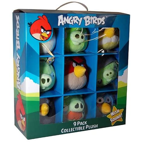 Angry Birds Collectible Talking Plush 9-Pack – Gadgets Matrix