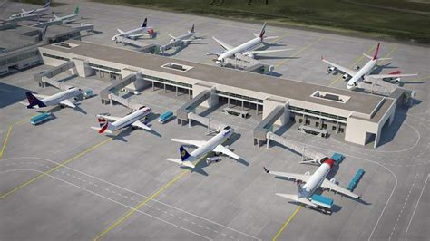 Budapest Airport to start building pier in December